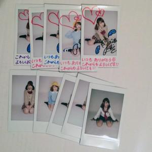 チェキ(矢板 優希/ 2014年4月) #CH00501
