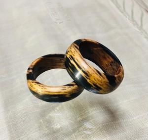 黒柿のリング
