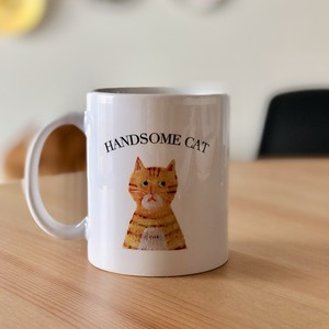 UKIKI MUG orange tabby