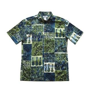 Mountain Men's / ボタンダウンアロハシャツ / Ukulele  残り僅か