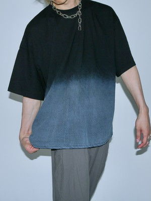 【UNISEX - 1 Size】OVERFIT GRADATION TEE / 2colors
