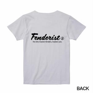 【Fenderist】Tシャツ[WIHTE]