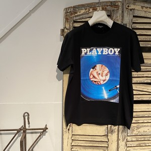 Marbles【マーブルズ】/ PLAY BOY S/SL TEE 04 / BLACK /SIZE:L/MCS-A20PB04