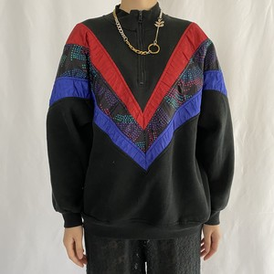 90's CHINAWEAR BY MORSLY | zipup pullover sweat