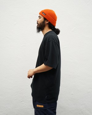 PLAIN CD - CREW NECK T-SHIRT S/S / BLACK