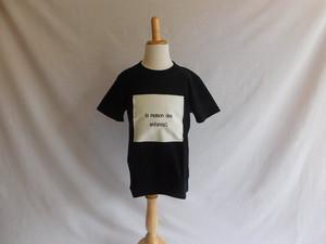 【ZEKKENホワイト】Tシャツ  ブラック
