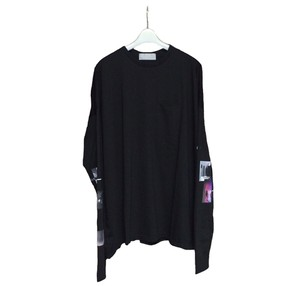PRINT SLEEVE T (BLACK)