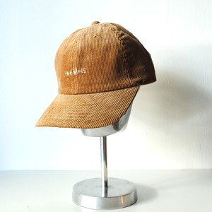 『the girls』Corduroy cap/Tan