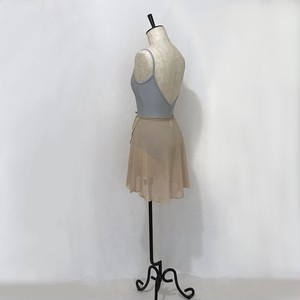 "❖""Fiorina"" Ballet Wrap Skirt -  Nude Ⅱ [Sheer]( ヌードⅡ [シアー])"