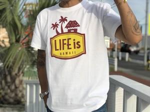 LIFEis LANIKAI tシャツ(white)¥2990+tax