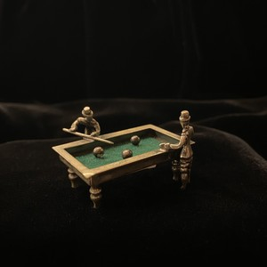 Silver Miniature #02 -The Billiards / Pool-