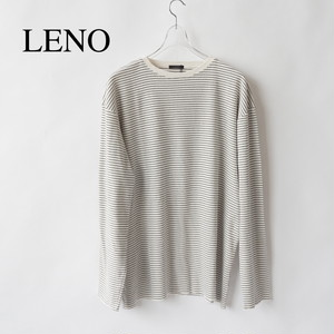 LENO/リノ・LONG SLEEVE BORDER T-SHIRT