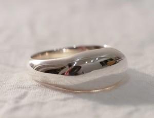 純銀製(Sv9999)pukku-ring(SLIM)