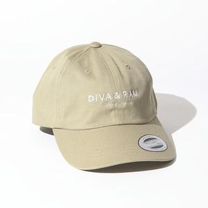 LOGO LOW CAP(KHAKI)