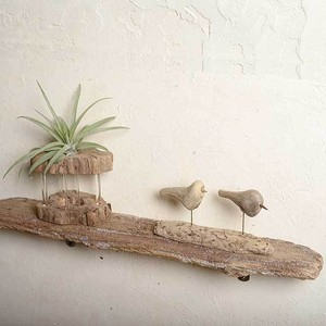 流木の壁掛けシェルフ飾り棚-13