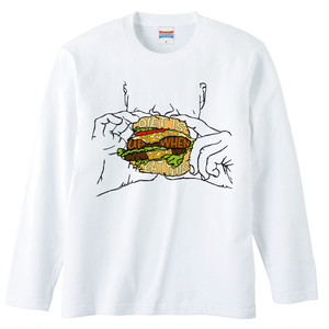 [ロングスリーブTシャツ] Diet is messed up when you eat this