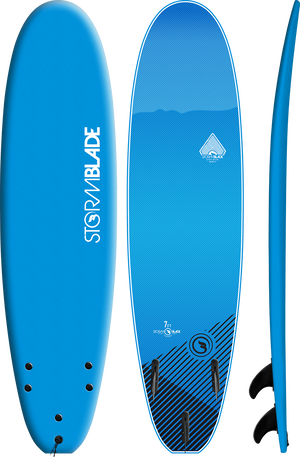 Storm Blade 7ft Surfboard / Azure Blue