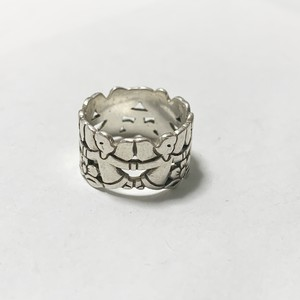 Vintage James Avery Angels Silver Ring