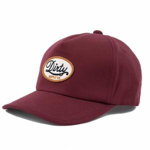 AT-DIRTY(アットダーティー)/TRUCKER'S CAP (BURGUNDY)