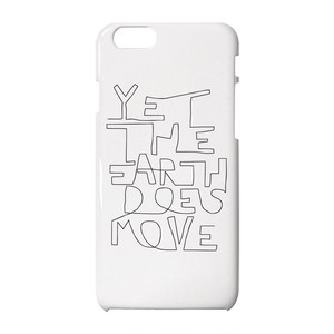 Yet the earth does move iPhoneケース