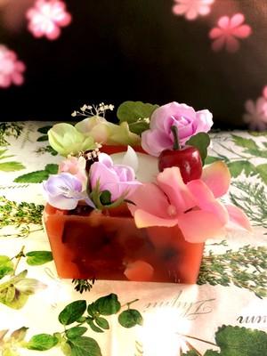 sweetな香りのお花LEDライトキャンドルホルダー