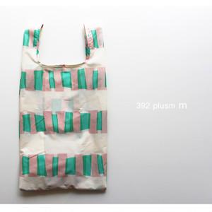 【392 plusm m】S9010806  Square bag cellophane(S) エコバッグ