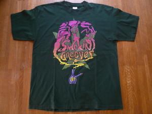 激レア SMOKIN GROOVES 1997年 Tee ジョージクリントン エリカバドゥ サイプレスヒル ROOTS ファーサイド アウトキャスト 90s SOUL FUNK