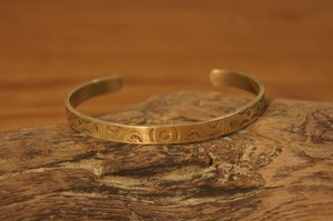 native brass bangle