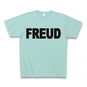 フロイトロゴTシャツ 薄緑