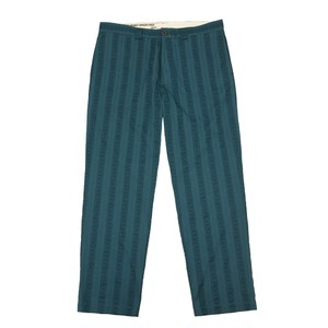 WHIMSY / EMBOSSY CHINOS -GREEN-