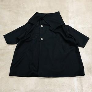 nunuforme ハイネックコート Black [71-nf16-218-145] M/L/XL
