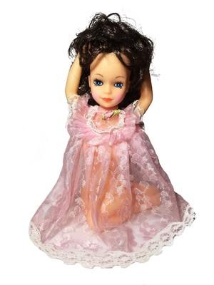 70's vintage pinup doll (BK x PK)