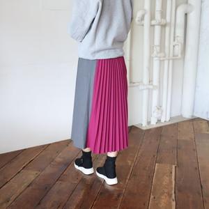 T/Rサージバックプリーツスカート【BB94-603】