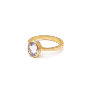 SINGLE PETIT STONE NON-ADJUSTABLE RING 014