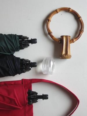 ハンドルを選べる傘オーダー雨用折り畳みハンドルAタイプ(期間限定)
