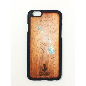 アイフォンケース ハワイ地図 シェル 貝 iPhone6 iPhone6s コア