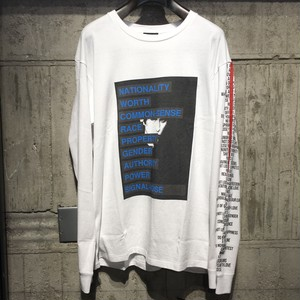 【CHRISTIAN DADA】Graphic Print Long Sleeve T-shirt