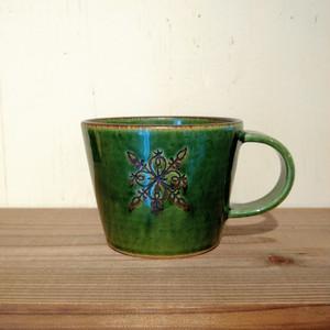 緑色のマグカップ(atelier BOCCOさん)