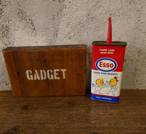 1960's Esso  LIGHTER FLUID CAN