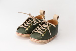 """first shoes """"HELLO"""" ( green )"""