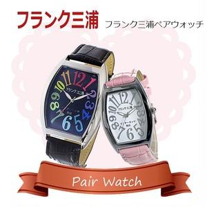 【ペアウォッチ】フランク三浦 インターネッツ別注  腕時計 FM06IT-CRBK FM00IT-SVPK