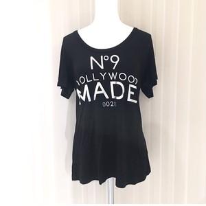 【HOLLYWOOD MADE(ハリウッドメイド)】 BLACK LADYS Tシャツ