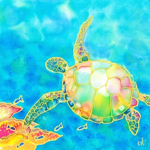 原画 Colorful tropics 11