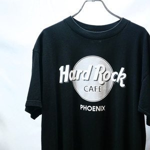 【USED】Hard Rock Cafe モノトーン Tシャツ 半袖