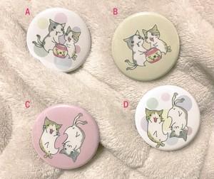 【柾木仁平】猫又缶バッジ(全4種類)