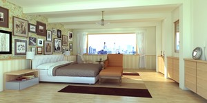 bed room for Sketchup & SUpodium