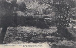 古絵葉書エンタイア「豊饒なる水」(1900年代初頭)