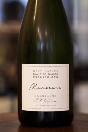 Brut Nature Blanc de Blancs Murmure Premier Cru NV / J.L.Vergnon(ブリュット ナチュール ブラン ド ブラン ミュルミュル プルミエ クリュ/ジャン ルイ ヴェルニョン)