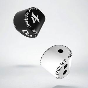 変わった形の2面体ダイスと4面体ダイスのセット