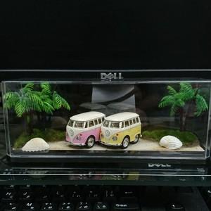 ミニカー展示用 ジオラマケース( 浜辺風 )